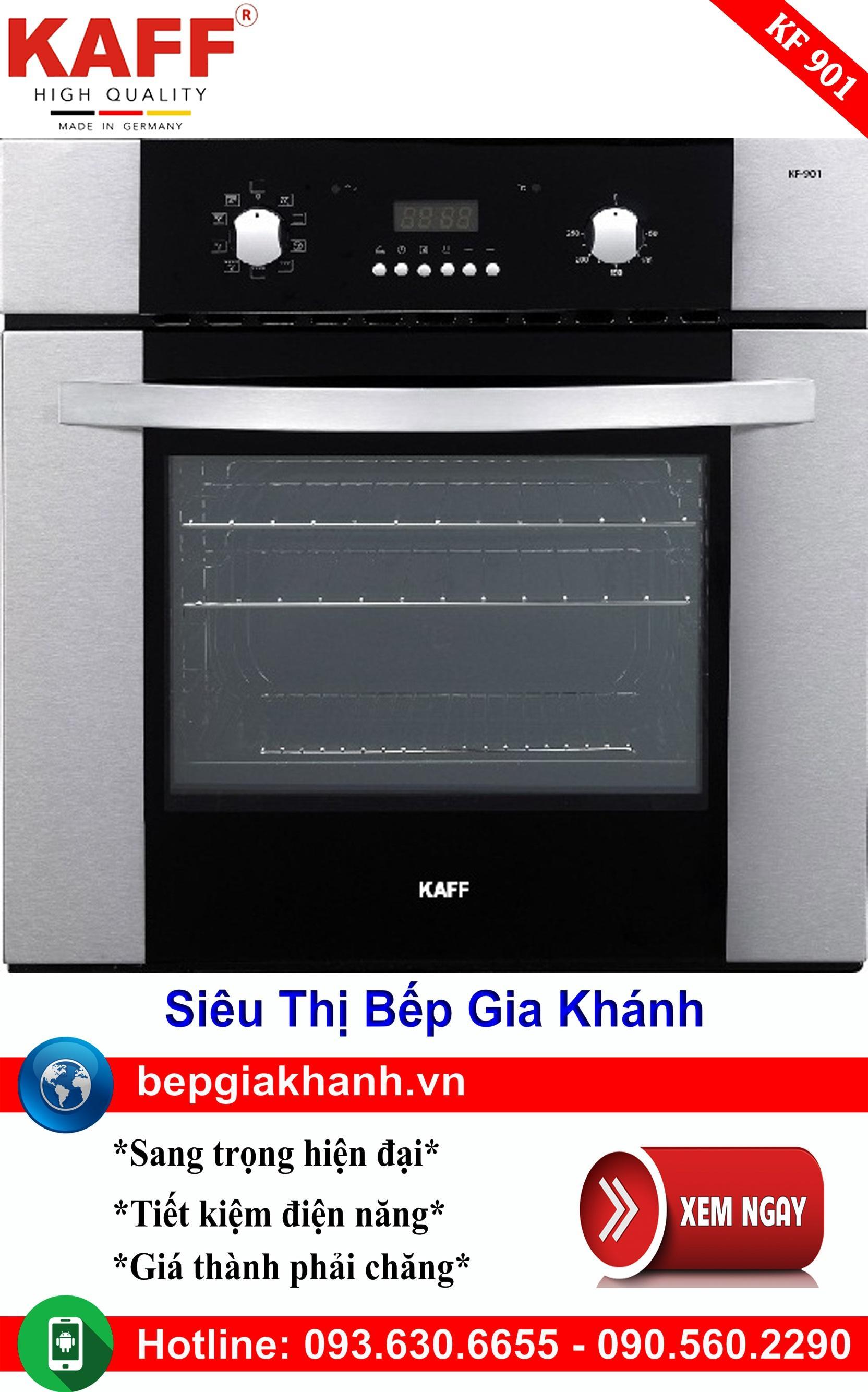 Lò nướng điện đa năng Kaff KF 901, lò nướng điện, lò nướng bánh, lò nướng thủy tinh, lò nướng bánh mì, lò nướng bánh bông lan
