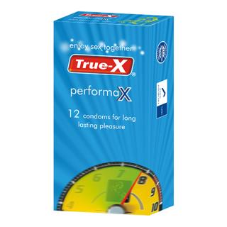 Bao cao su True-X PerformaX- Extra time kéo dài thời gian hộp 12 chiếc thumbnail
