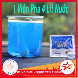Bộ 50 Viên sủi rửa bề mặt kính - Pha nước 4 lít nước rửa kính xe, chất tẩy rửa kính lái xe ô tô AROCA thumbnail