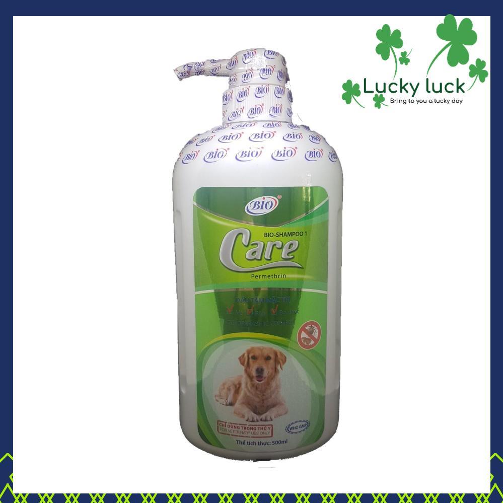 Sữa Tắm xà mâu ve ghẻ bọ chét Chó Mèo hiệu quả nhanh chóng - Biocare 500ml Nhật Bản