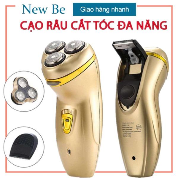 Bảng giá 【New Be】 Máy cạo râu đa năng thông minh với 3 cặp lưỡi khô và giặt khô (có thể chọn hai kiểu) Điện máy Pico