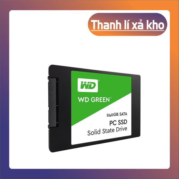 Bảng giá [Phá Sản] SSD Western Digital Green Sata III 240GB WDS240G2G0A -  [Hàng Chính Hãng] Phong Vũ