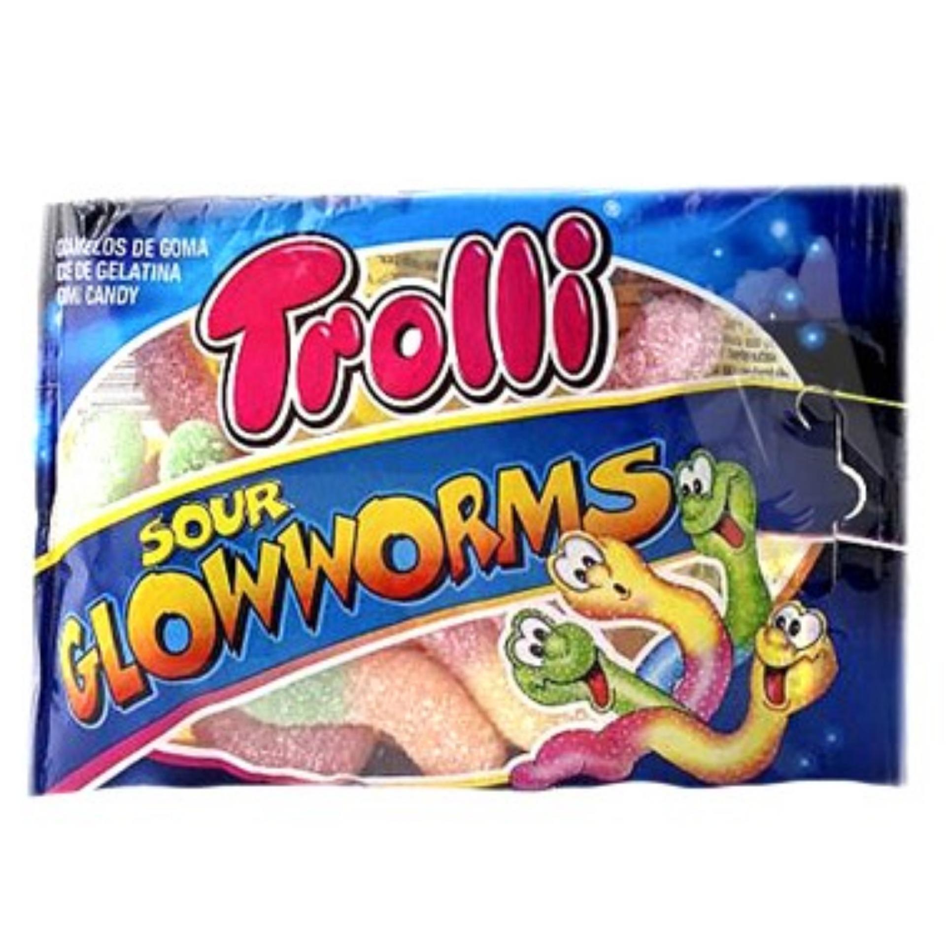 Kẹo dẻo Trolli Sour Glowworms 45gr