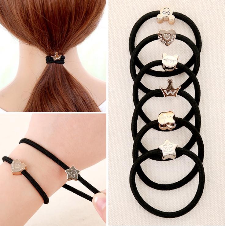 Combo 100 dây thun cột tóc style Hàn Quốc giá rẻ