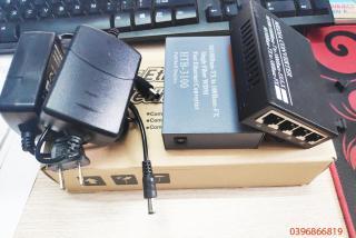 Bộ chuyển đổi quang điện 1 quang 4 LAN - Converter quang 100Mbps thumbnail