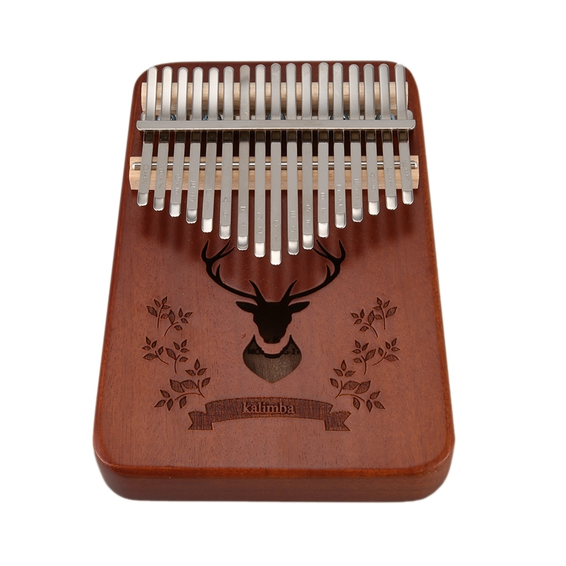 17 Keys Kalimba African Thumb Finger Piano Musical