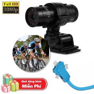 ( Quà tặng Dây sạc điện thoại 3 đầu đa năng ) Camera hành trình chống nước cho xe đạp, xe máy M500 - Camera thể thao M500 Full HD 1080P thumbnail
