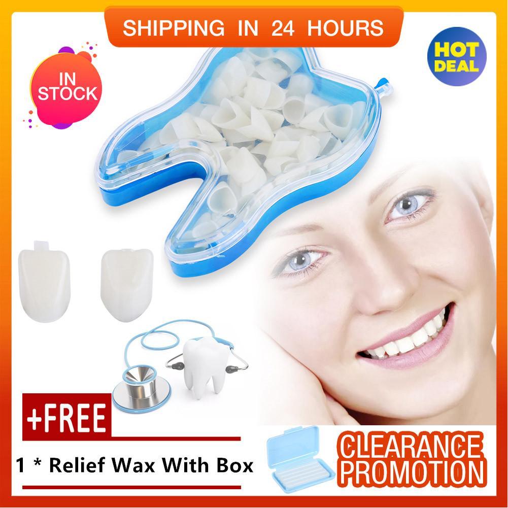 [quà miễn phí]50 cái Trước Thực Răng Tạm Thái cho Làm Trắng Răng Sứ Sức Khỏe Răng Miệng chính hãng