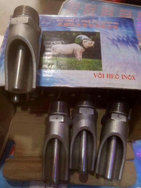 Núm uống tự động cho Lợn Heo - Loại Inox đẹp dày