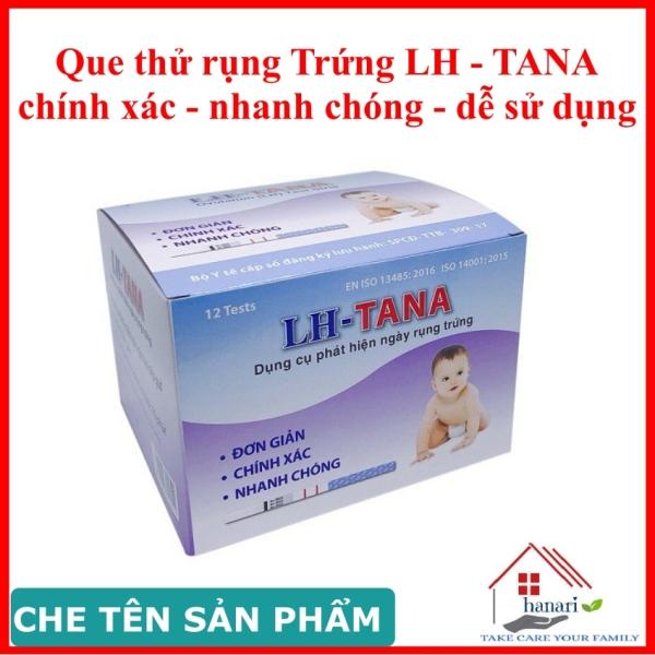 Que thử rụng trứng LH-TANA  - hộp 12 que, cho kết quả nhanh, an toàn dễ sử dụng cao cấp