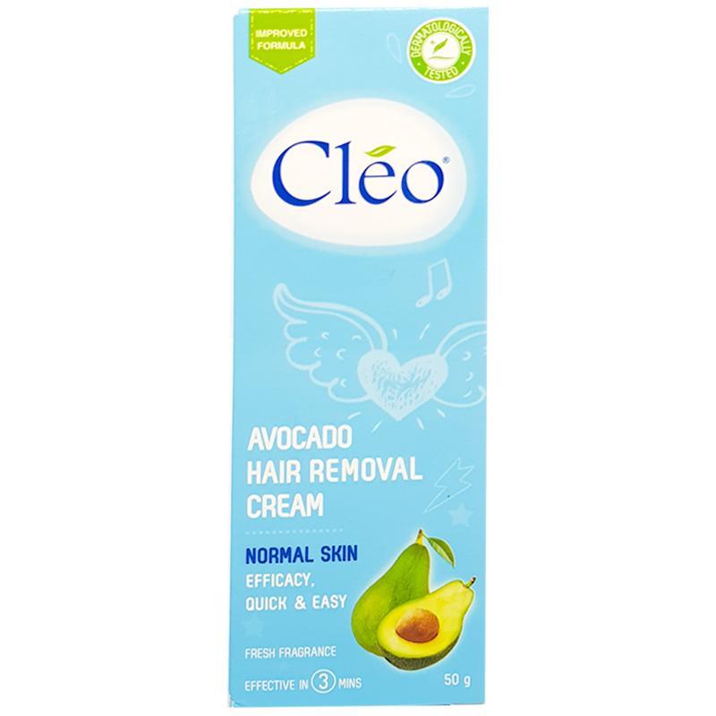 Kem Bơ Tẩy lông Cleo dành cho da thường 50g