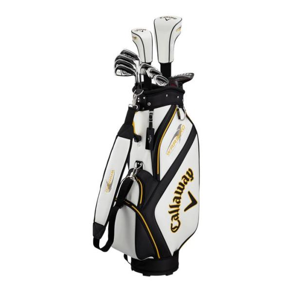Bộ Gậy Golf Nam Callaway Warbird 6 Golf club full set for men gồm 10 gậy Shaft Steel Flex S/ Shaft Graphite Flex R