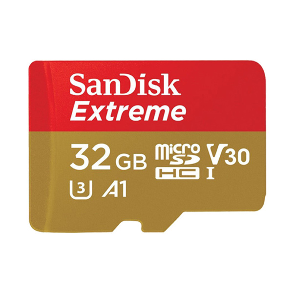 Thẻ Nhớ MicroSDHC SanDisk Extreme V30 A1 667x 32GB 100MB/s SDSQXAF-032G-GN6MN