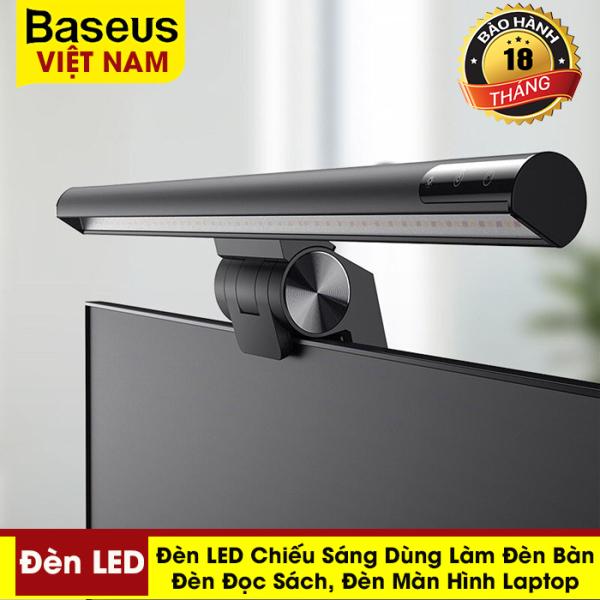 Bảng giá Đèn LED chiếu sáng Baseus Dùng làm đèn màn hình Laptop,đèn bàn, đèn đọc sách- phân phối chính hãng tại Baseus Việt Nam
