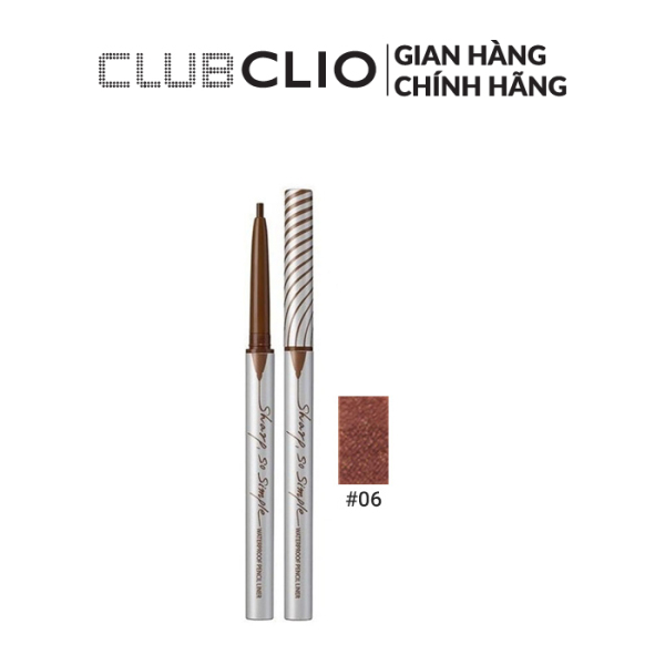 Viền Mắt Clio Sharp, So Simple Waterproof Pencil Liner 0.14g giá rẻ
