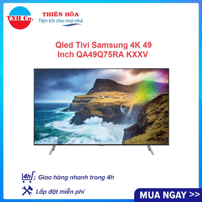 Bảng giá Smart Qled Tivi Samsung 4K UHD 49 Inch QA49Q75RAKXXV (Bạc) kết nối Internet Wifi - Bảo hành 2 năm