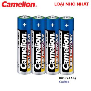 4 viên pin tiểu loại nhỏ nhất AAA 3A Camelion dùng cho máy đo huyết áp cổ tay hoặc remote tv thích hợp thumbnail