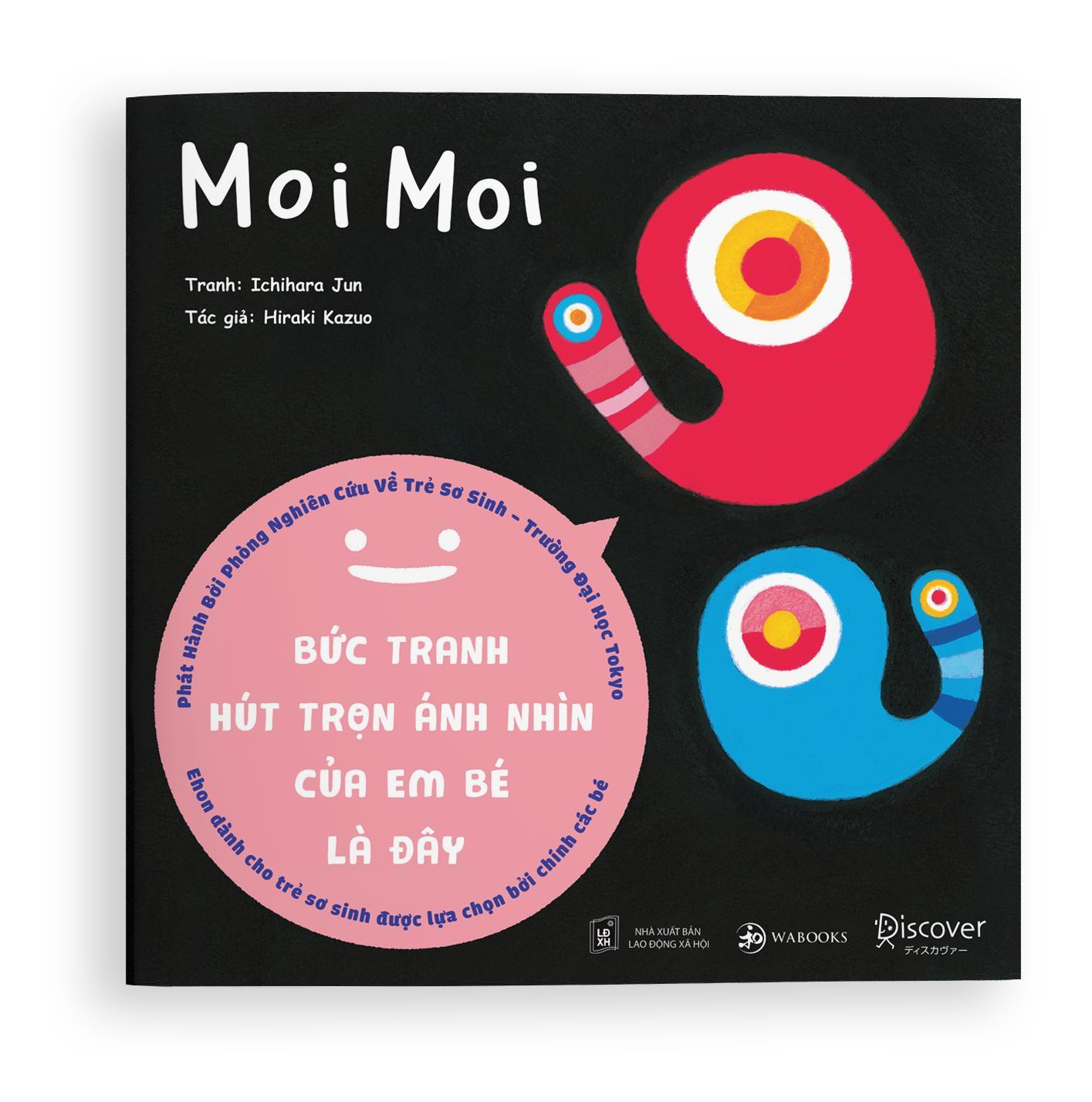 Mua Moi Moi - Cuốn sách Ehon giúp mọi em bé ngừng khóc