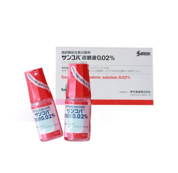 Nhỏ mắt Sancoba giảm cận thị, phục hồi thị lực Nhật Bản giá rẻ