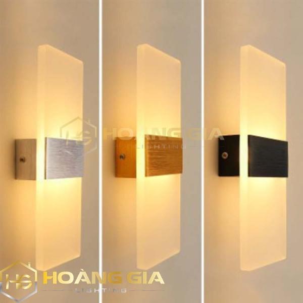 Đèn tường - Đèn trang trí tường - Đèn Led Gắn Tường Decor Hình Khối Chữ Nhật TN140 - 3 chế độ ánh sáng Trắng/Vàng/Trung Tính Bảo hành 12 tháng