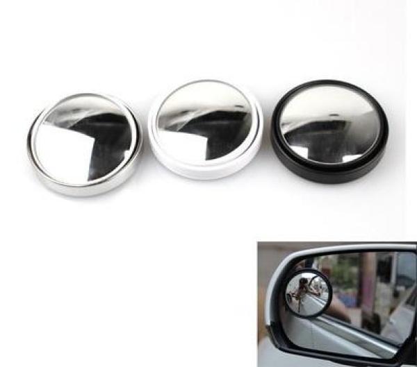 BỘ 2 gương cầu lồi 360 độ có viền HT-1003 gắn gương chiếu hậu xe hơi ô tô xe máy