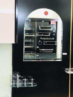 Gương soi phòng tắm cao cấp kích thước 45x60 cm thumbnail