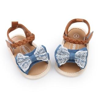 Giày tập đi sandal cho bé 0-18 tháng tuổi quai bện xinh xắn BBShine - TD6 thumbnail