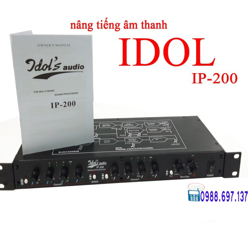nâng tiếng âm thanh idol   IP200
