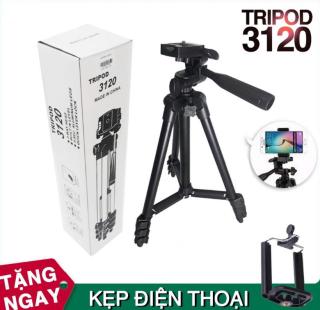 Chân Tripod cao cấp TF-3120 hỗ trợ chụp ảnh mẫu mới nhất thumbnail