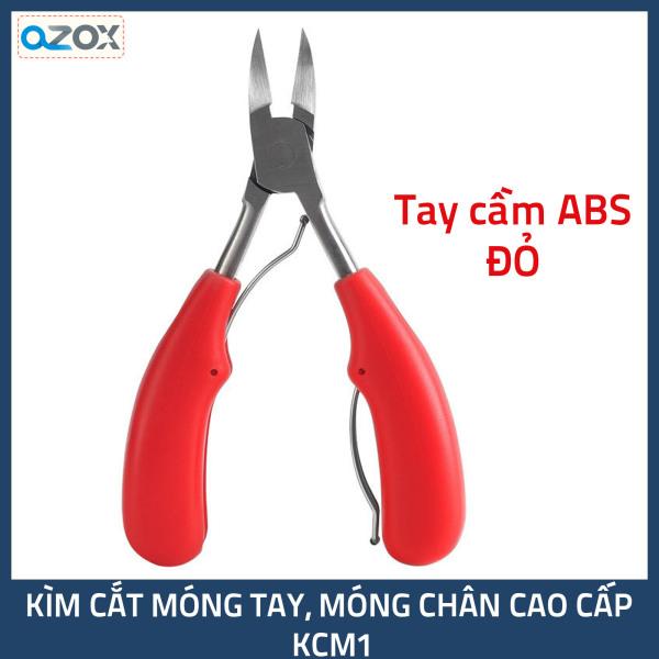 Kìm cắt móng tay, móng chân chuyên nghiệp KCM1 (Kềm có tay cầm nhựa ABS) tốt nhất