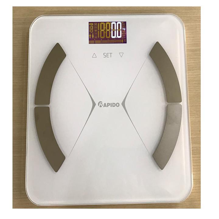 Cân sức khỏe phân tích chỉ số cơ thể Rapido nhập khẩu