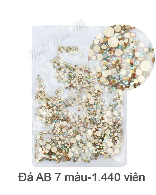 Bịch đá 7 màu AB S4-S20 (1.440 viên)