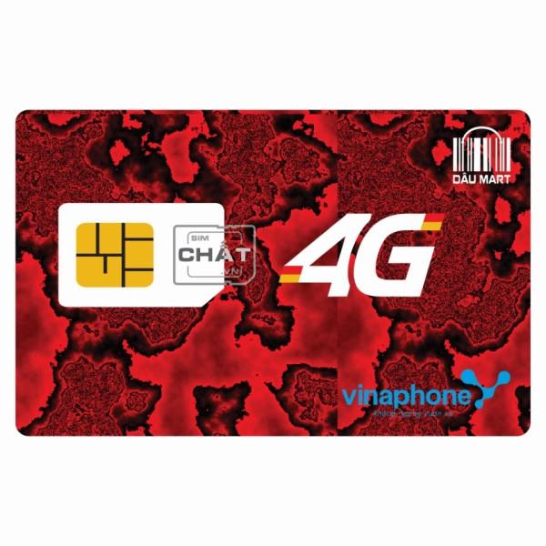 SIM 4G Vinaphone D60G 12T Free 1 Năm - Tặng 60GB /Tháng & Miễn Phí Nghe Gọi Nhắn Tin Trọn Gói 1 Năm Không Cần Nạp Tiền - Dâu Mart