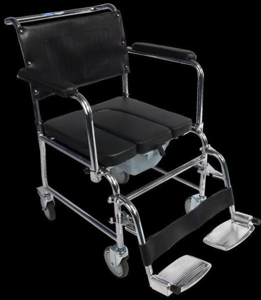 Ghế Bô Vệ Sinh Cao Cấp Mặt Nệm Mềm Mại Cho Người Già, Người Khuyết Tật, Hợp Kim Inox GX 900