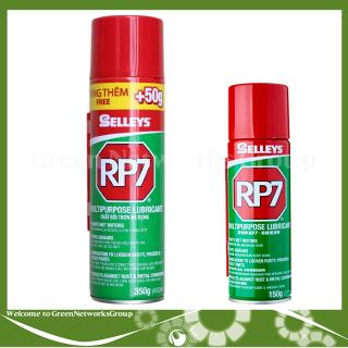 Dầu chống rỉ sét và bôi trơn đa dụng RP7 150g -350g ( 1 Chai ) Greennetworks thumbnail