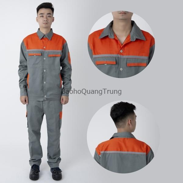 Giá bán Quần áo bảo hộ lao động kỹ thuật - May kỹ - Vải kaki dày - SB31