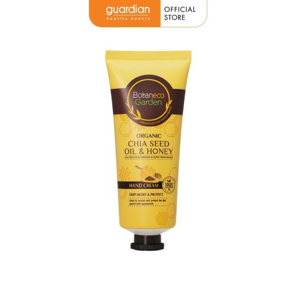 Kem dưỡng da tay Botaneco Garden Chia seed oil & Honey dưỡng ẩm sâu & bảo vệ 60g