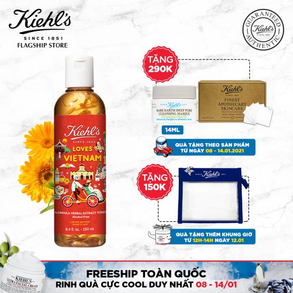 [Kiehls love VN] Nước cân bằng Hoa Cúc Kiehls Calendula Herbal Extract Alcohol-Free Toner 250ML