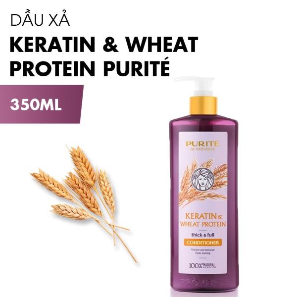 Dầu Xả PURITÉ Keratin & Wheat Protein Ngăn gãy rụng 350ml