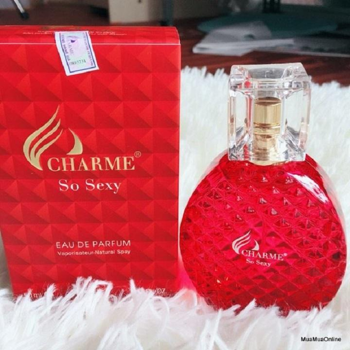 NƯỚC HOA CHARM SO SEXY 50ML