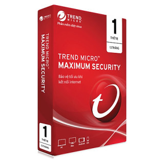 Phần Mềm Diệt Virus Trend Micro Maximum Security - 1PC 12 tháng thumbnail