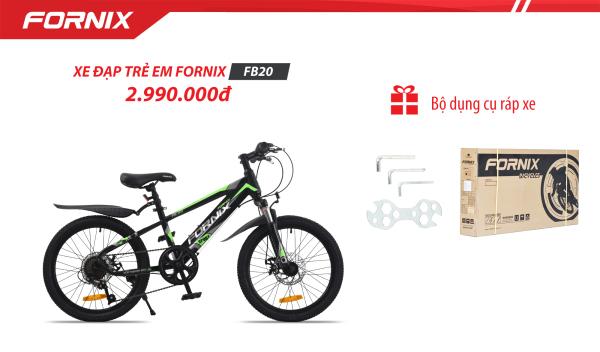 Mua Xe đạp địa hình trẻ em thể thao Fornix FB20 (Kèm bộ dụng cụ)- Bảo hành 12 tháng