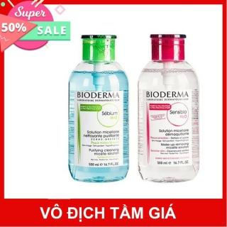 [Sale] Nước tẩy trang Bioderma 500ml (Made in France - Xách tay Pháp) thumbnail