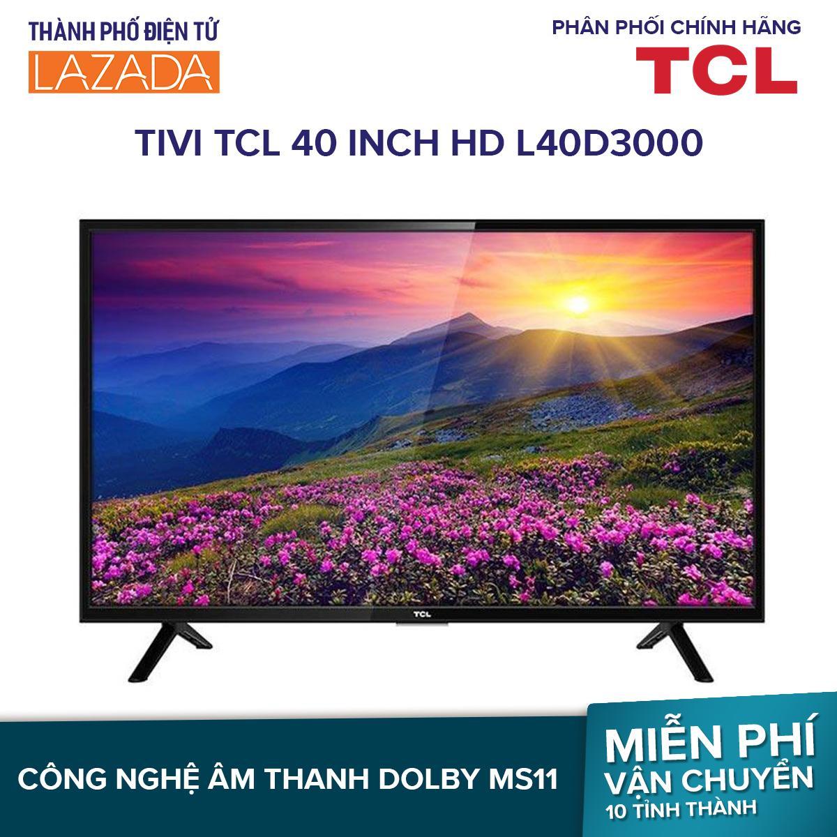 Smart Tivi TCL 40 inch HD L40D3000