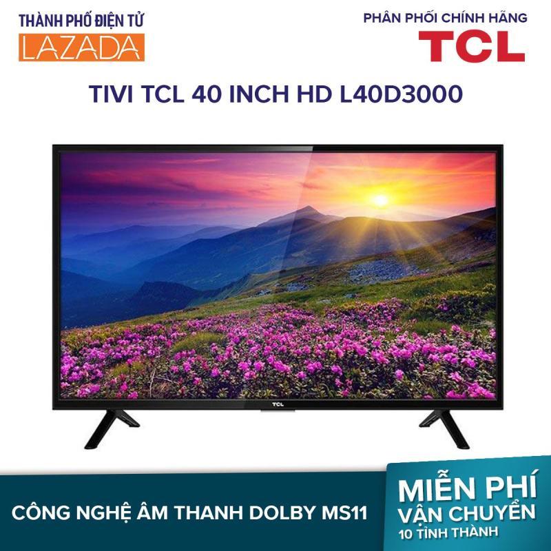 Bảng giá Smart Tivi TCL 40 inch HD L40D3000
