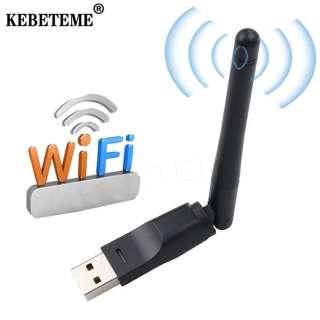 Card Mạng Không Dây USB 2.0 150M KEBETEME, Bộ Chuyển Đổi Mạng LAN 802.11 B/G/N Với Ăng-ten Xoay Cho Máy Tính Xách Tay, Máy Tính Để Bàn, Thiết Bị Thu Nhận Ngoại Vi Wi-fi Mini