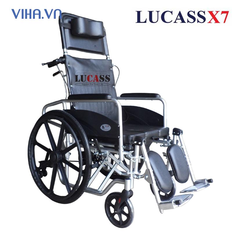 Xe Lăn Lucass X7 Aluminium Khung Nhôm Siêu Nhẹ