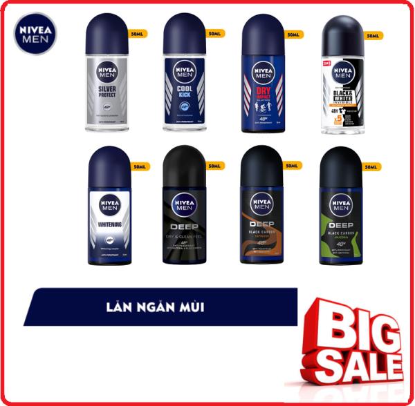 Lăn Ngăn Mùi NIVEA MEN Chai (50ml) giá rẻ