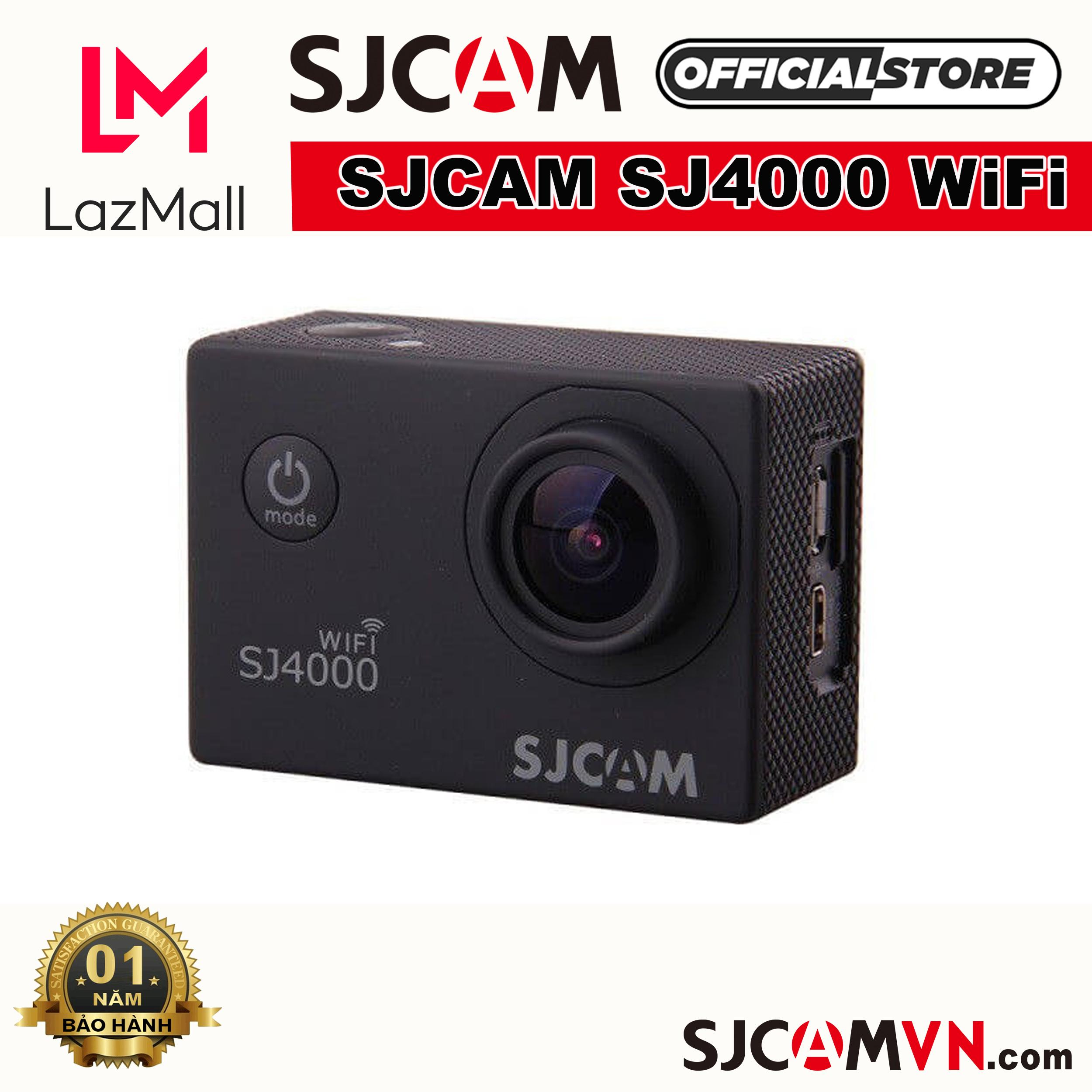 Voucher Ưu Đãi Camera Hành Trình SJCAM SJ4000 WiFi - Hãng Phân Phối Chính Thức