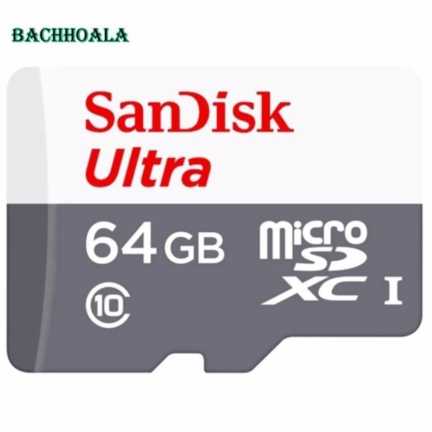 Thẻ nhớ micro SD sandisk Ultra A1 64GB 80Mb/s SDXC - New version